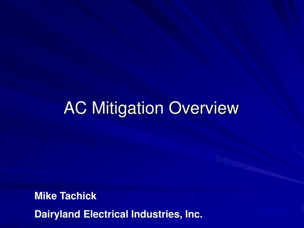 ac mitigation overview l.
