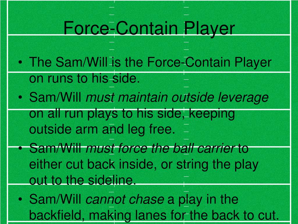 Force-Contain Player