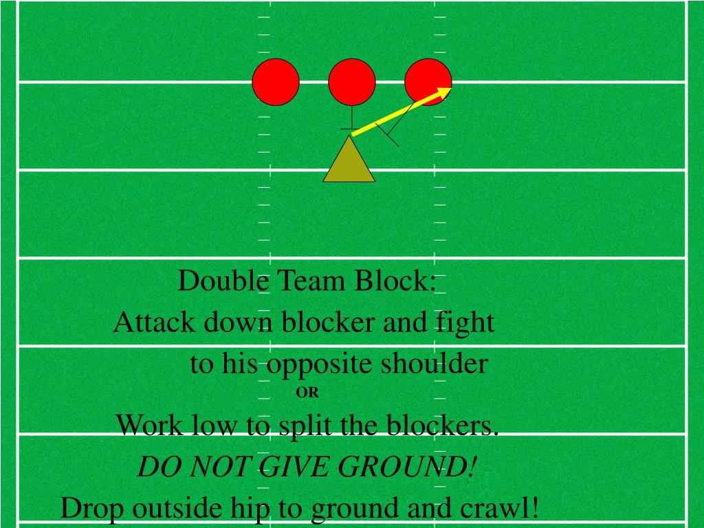 Double Team Block: