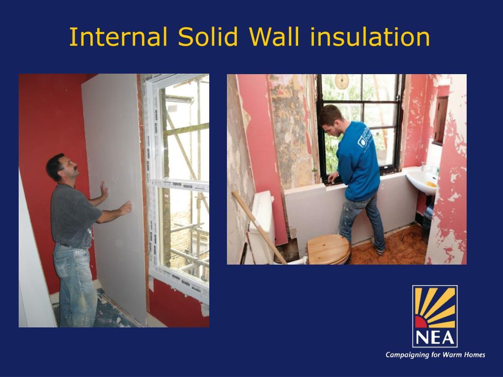 Internal Solid Wall insulation