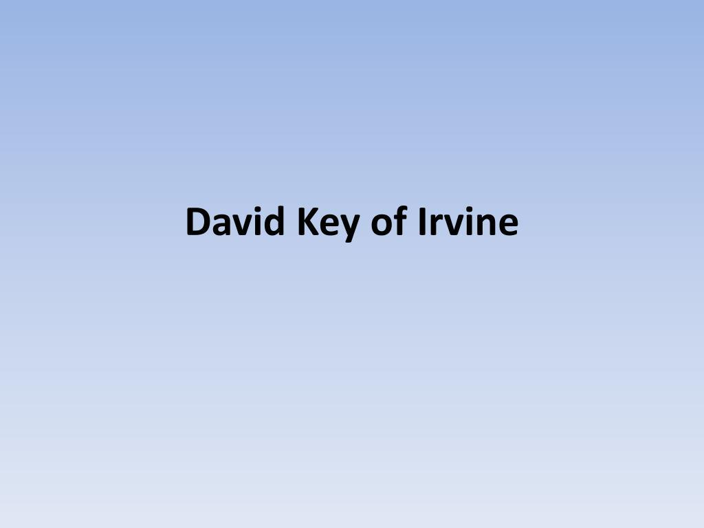 David Key of