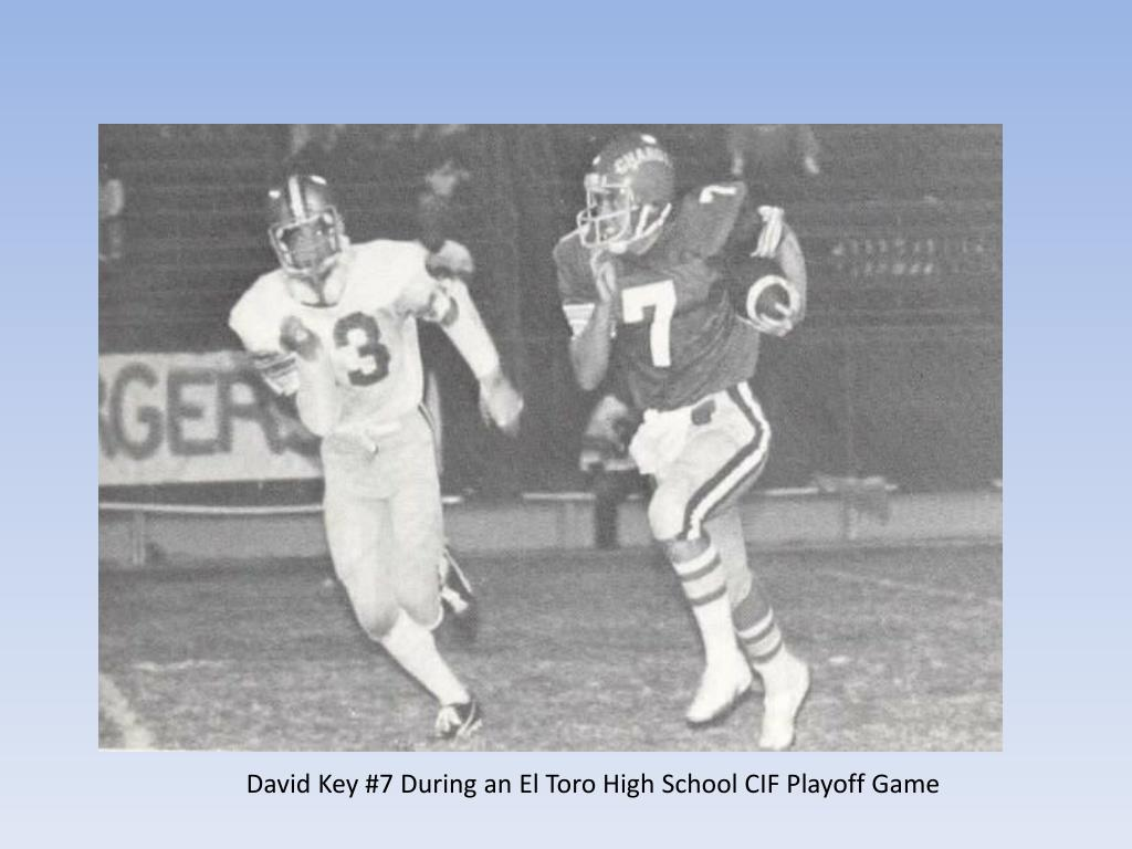 David Key #7 During an El Toro High School CIF Playoff Game