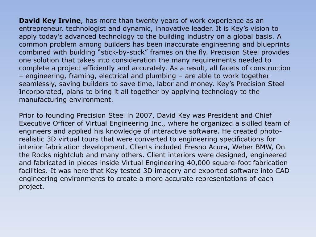 David Key Irvine