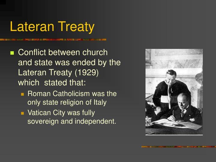 Lateran Treaty
