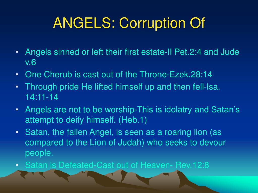 ANGELS: Corruption Of