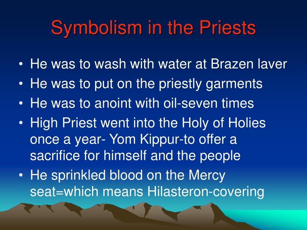 Symbolism in the Priests