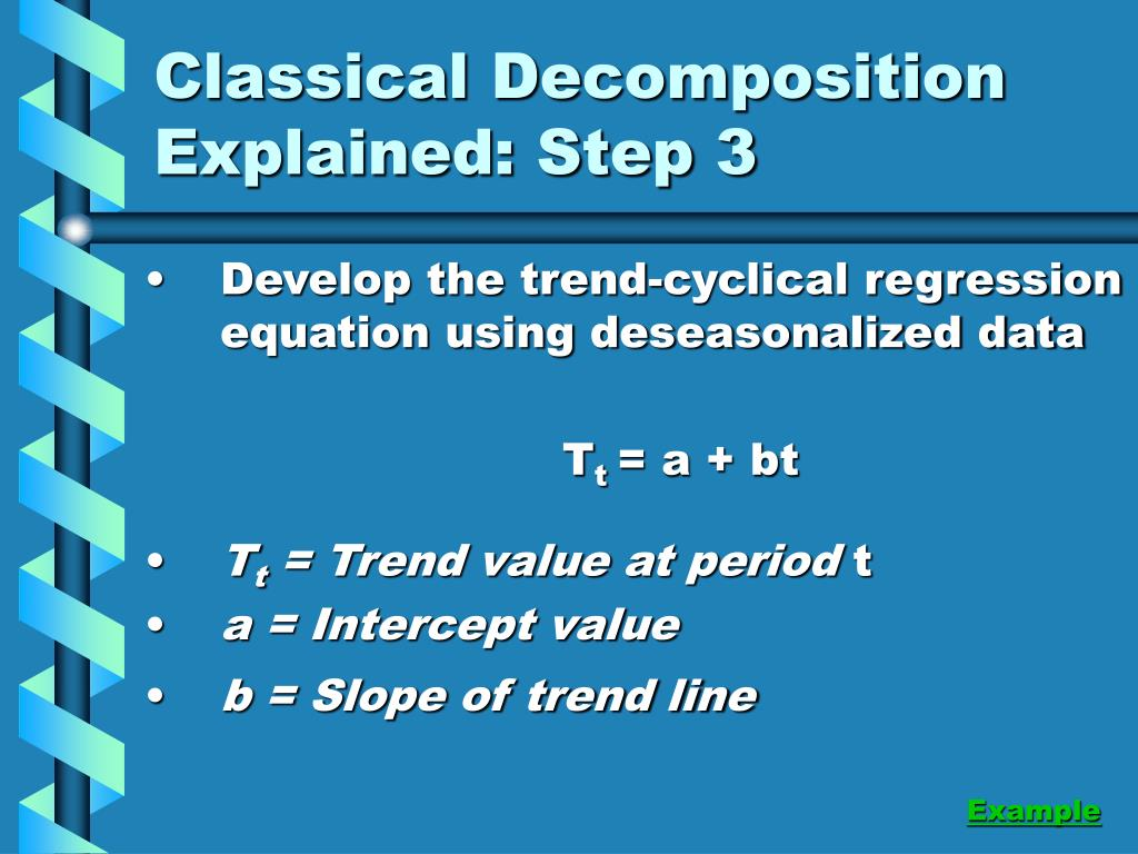 Classical Decomposition Explained: Step 3