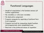 functional languages