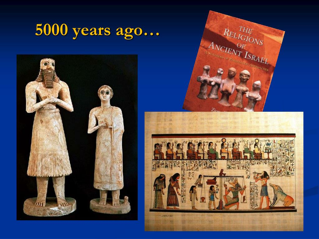 5000 years ago…