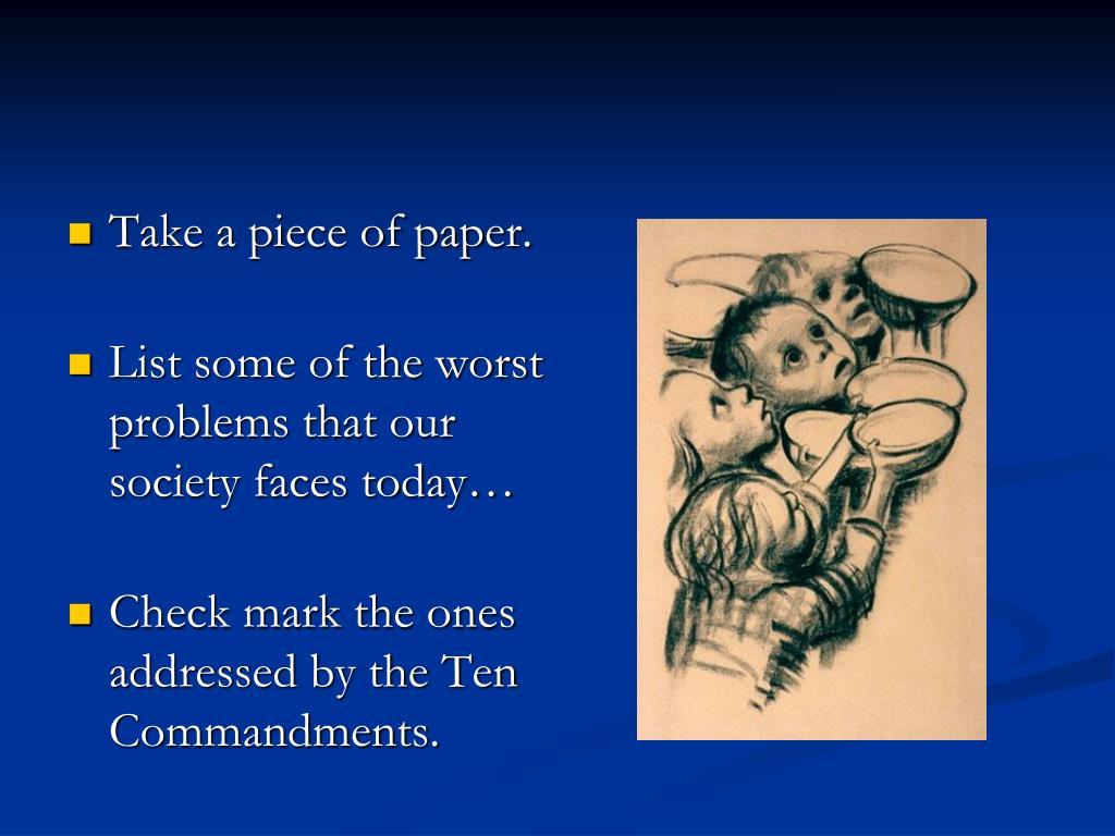 Take a piece of paper.