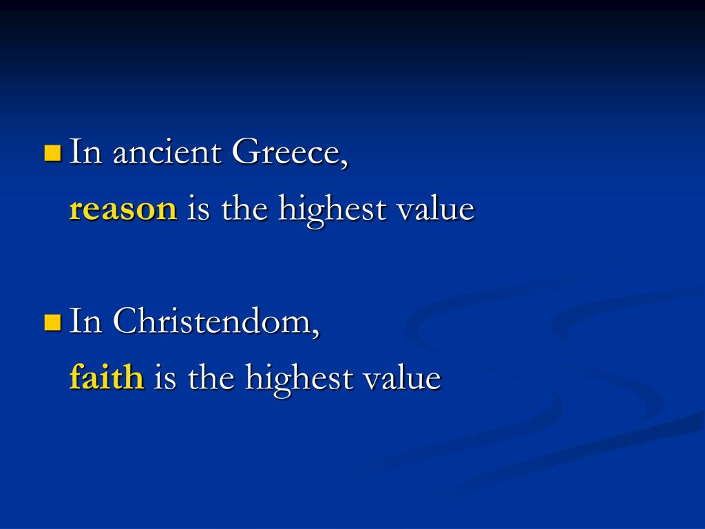 In ancient Greece,