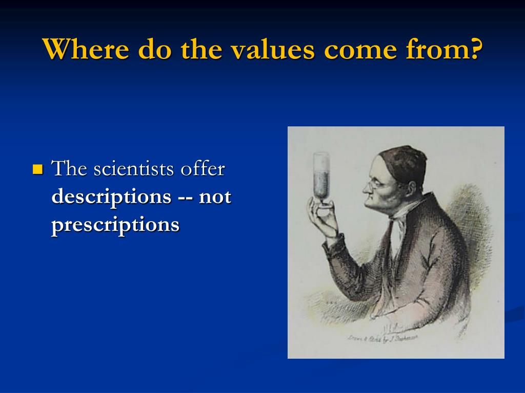 Where do the values come from?