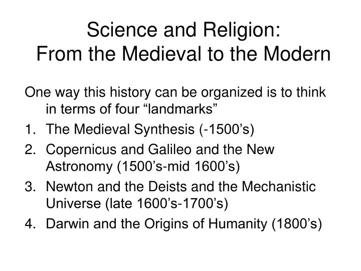 medieval synthesis This is not so much a problem created by history as a problem created by historians the term renaissance is a concept, which has proved reasonably useful in designating a phase of european civilization the same can be said of the term middle ages, and of the words medieval and modern.
