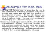 an example from india 190622