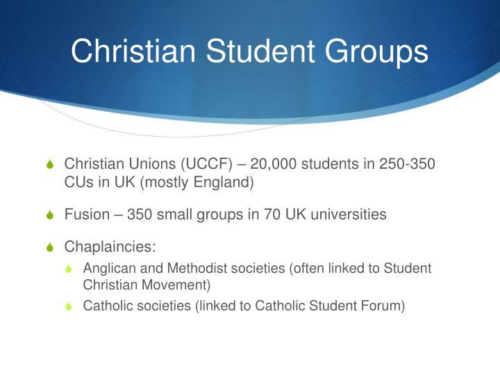 Christian Student Groups