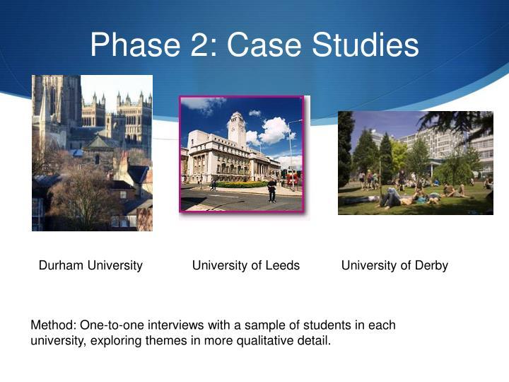 Phase 2: Case Studies