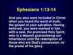 ephesians 1 13 143