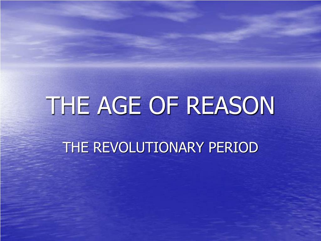 the age of reason l.