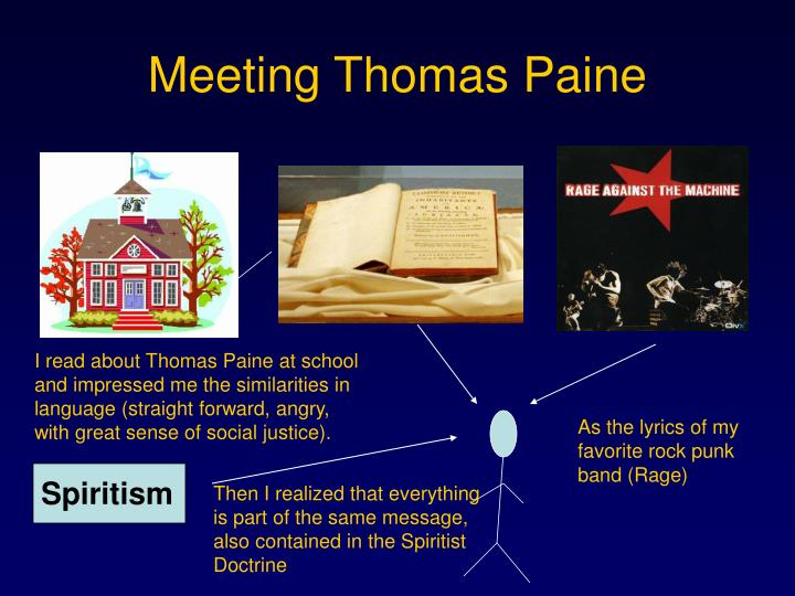Meeting thomas paine
