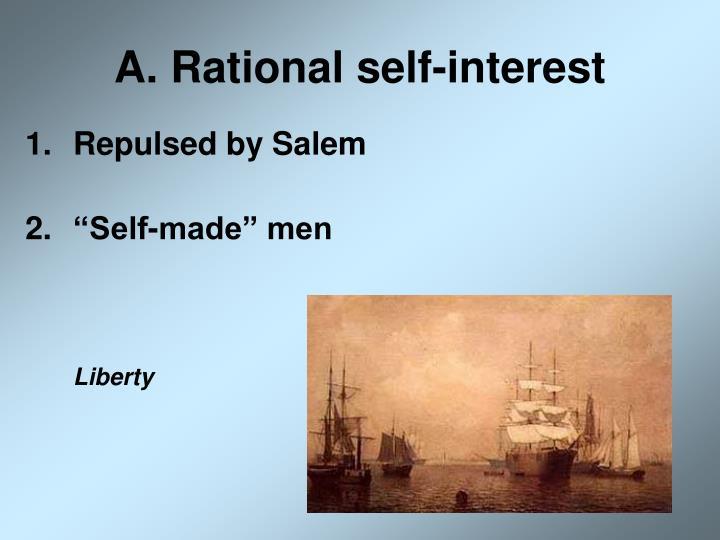 A rational self interest
