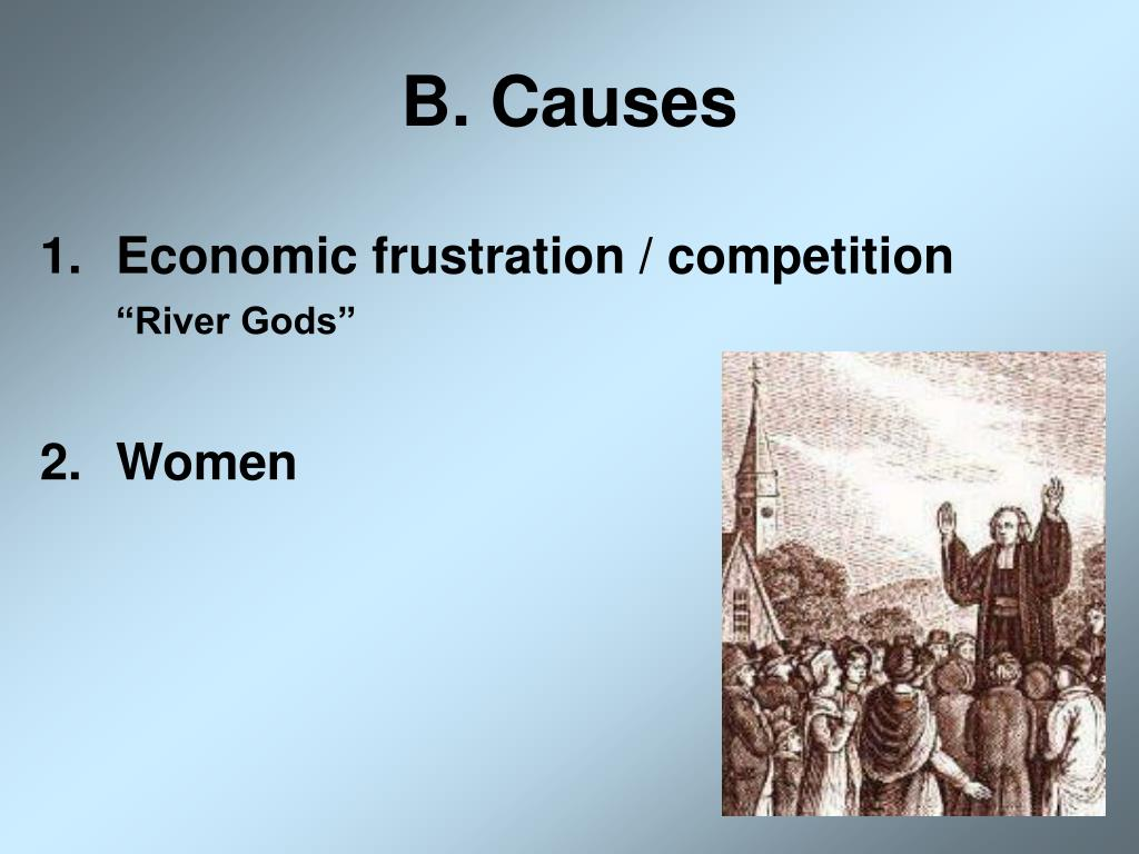 B. Causes