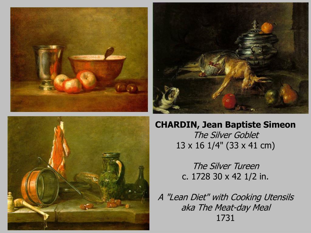 CHARDIN, Jean Baptiste Simeon