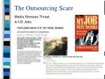 the outsourcing scare