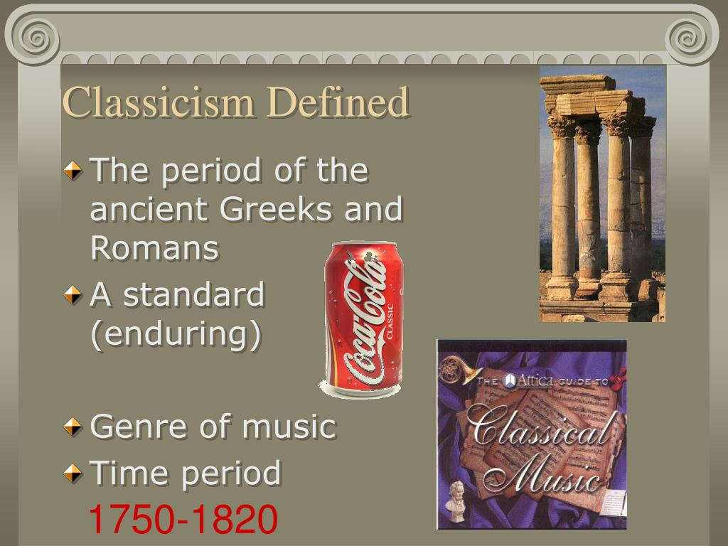 Classicism Defined