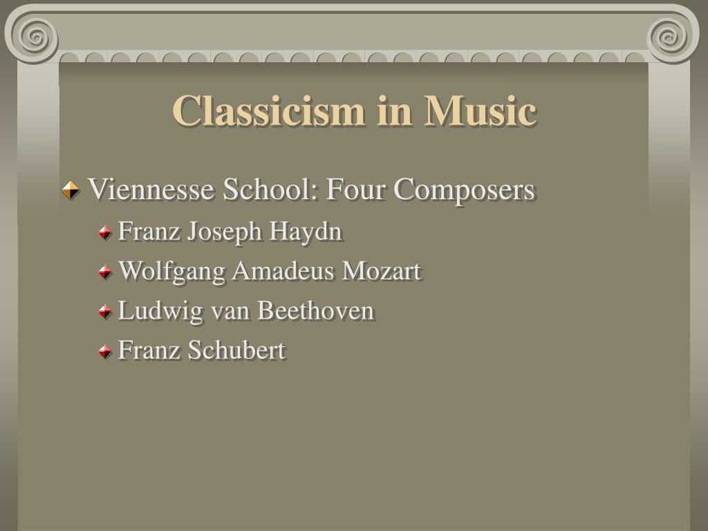 Classicism in Music