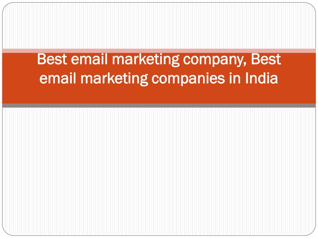 best email marketing company best email marketing companies in india l.