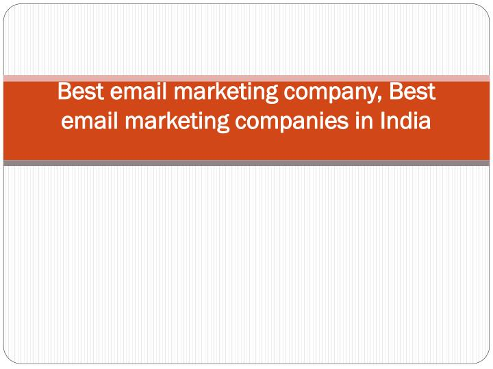 best email marketing company best email marketing companies in india n.