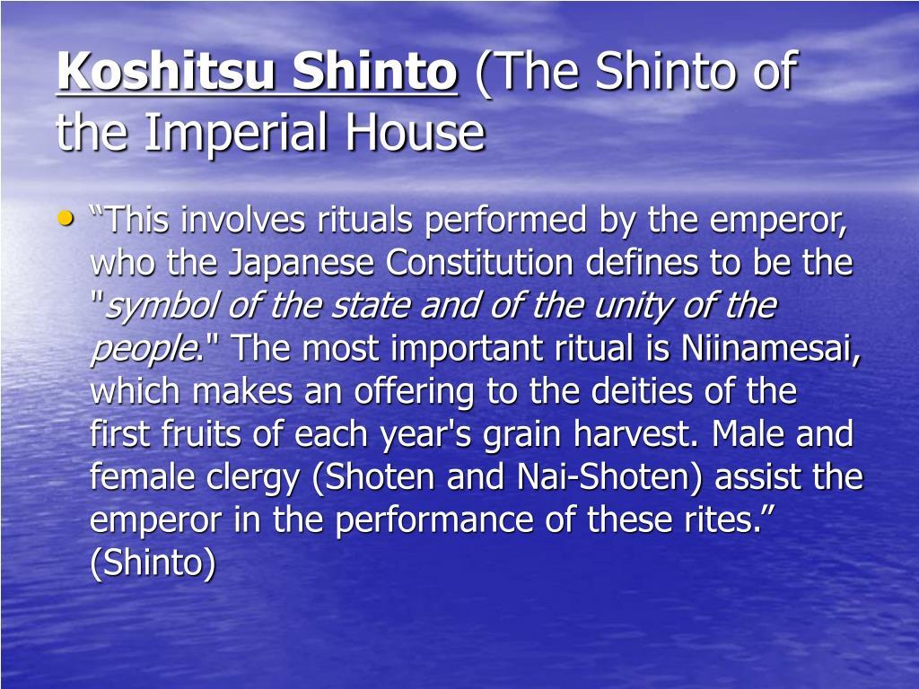 domestic shinto