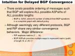 intuition for delayed bgp convergence1