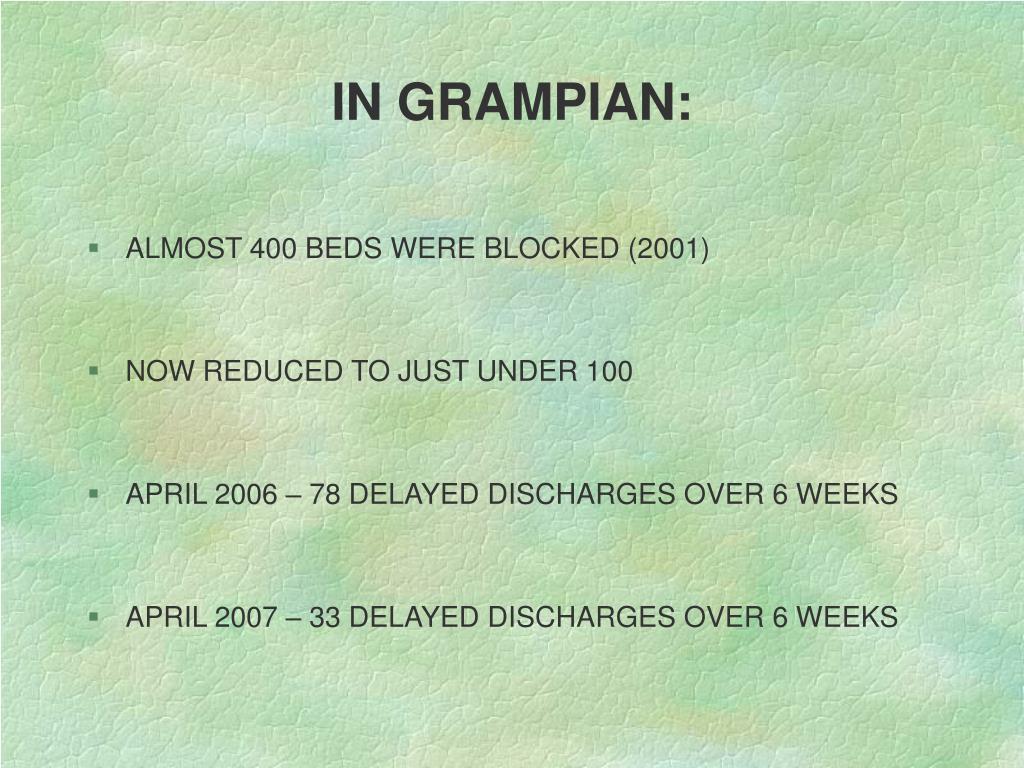 IN GRAMPIAN: