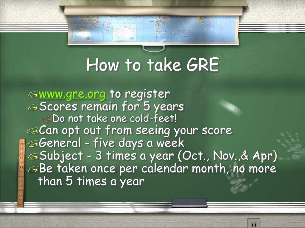 How to take GRE