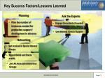 key success factors lessons learned1