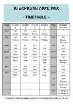 blackburn open feis timetable