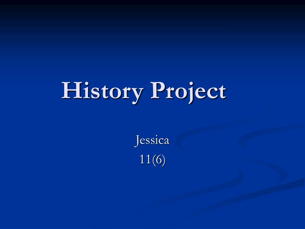 history project l.