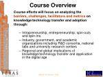 course overview2