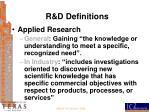 r d definitions1