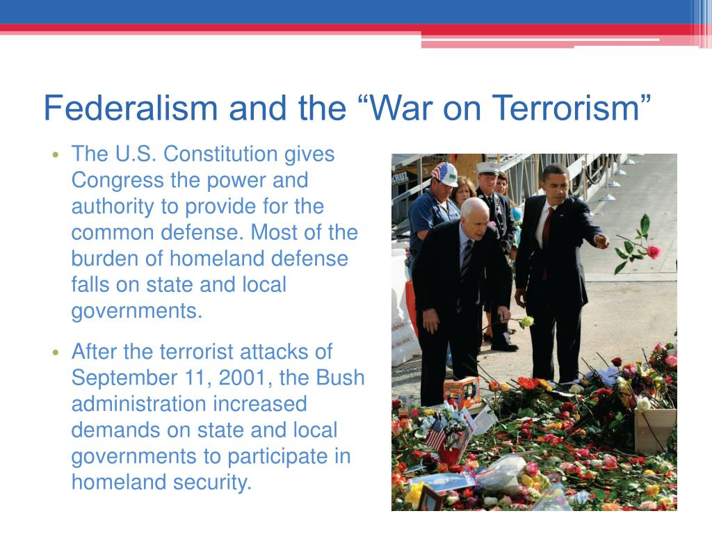 "Federalism and the ""War on Terrorism"""
