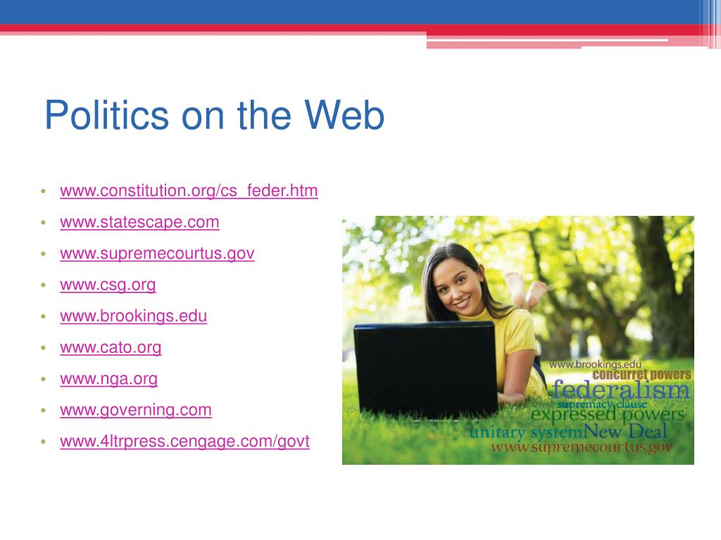 Politics on the Web