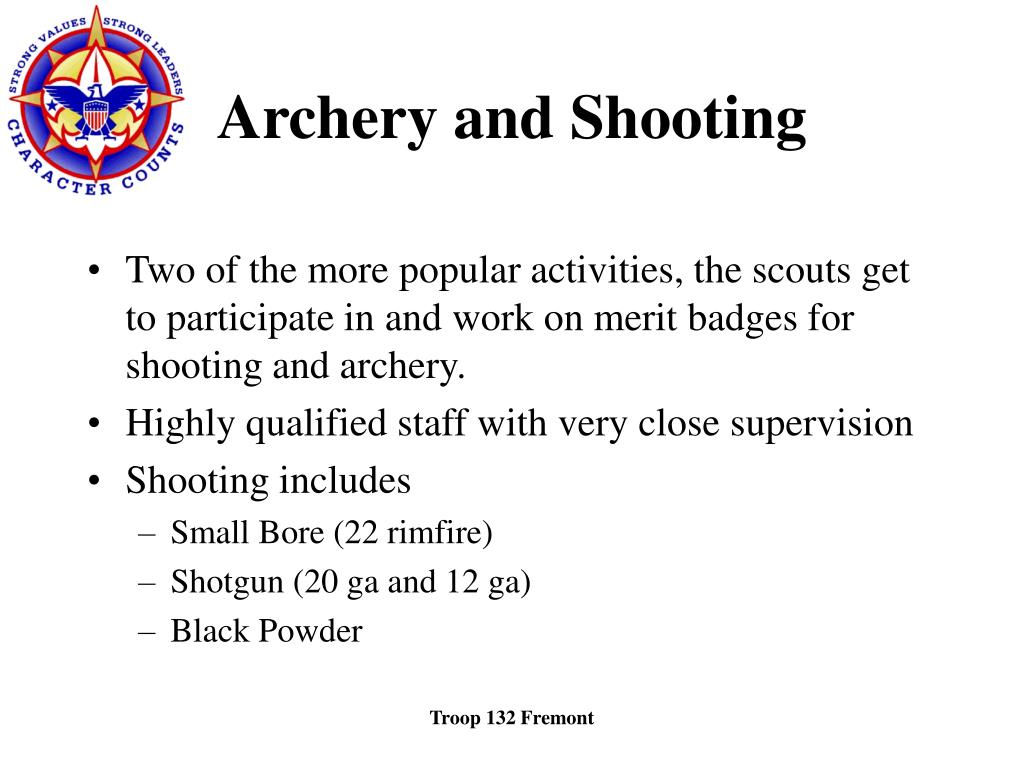 Archery and Shooting
