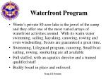 waterfront program