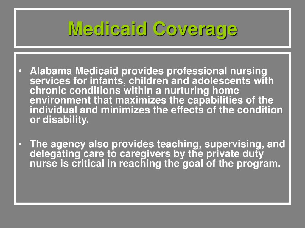 Medicaid Coverage