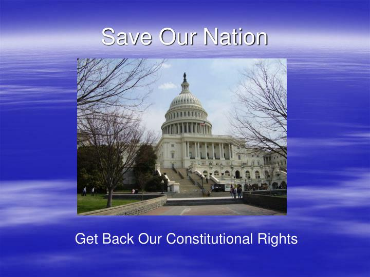 Save Our Nation