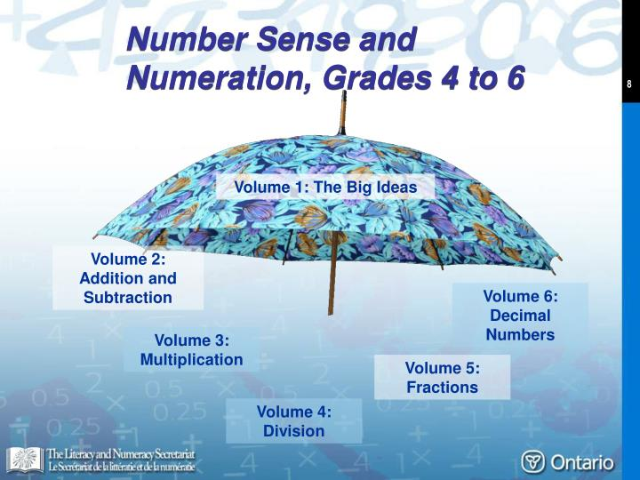 Number Sense and Numeration, Grades 4 to 6