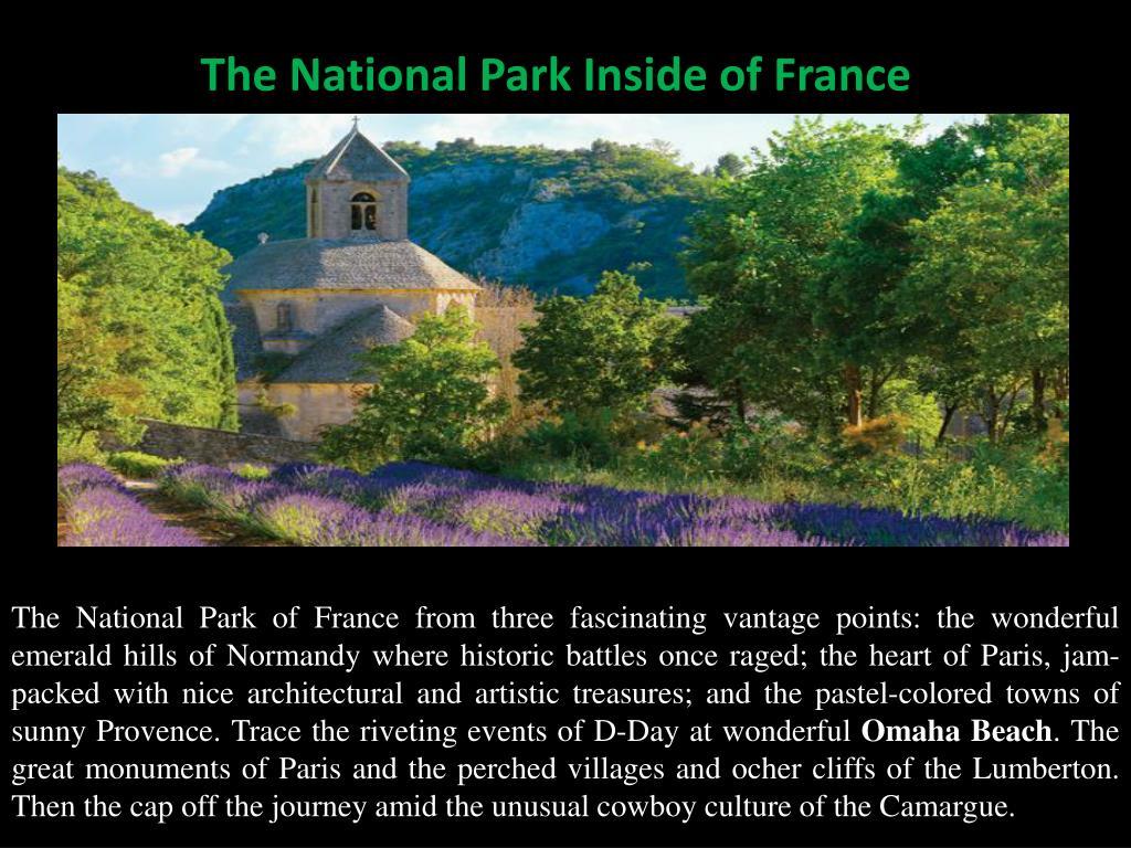 The National Park Inside of France