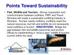 points toward sustainability15