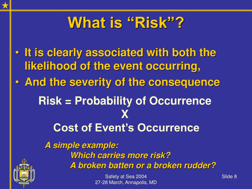 """What is """"Risk""""?"""